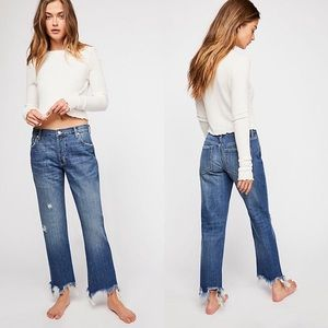 NEW Free People We the Free Maggie Jeans 25